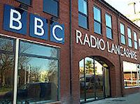 BBC Radio Lancashire's studios in Blackburn