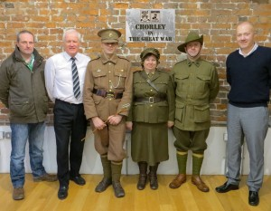 Chorley in the Great War Launch