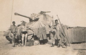 D Troop 519 Battery (Essex Yeomanry) Royal Horse Artillery, North Africa 1943