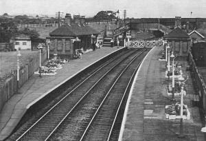 Hoghton Station c1950